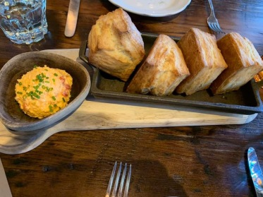 Biscuits at St. Anselm in Washington, D.C.