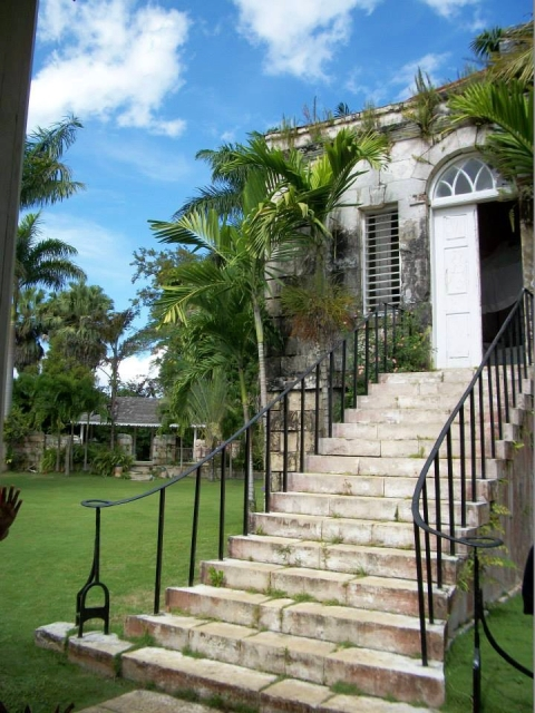 The Counting House at the Good Hope Estate in Jamaica