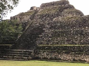 Mayan ruins in Costa Maya.