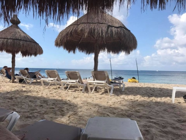 A view of Nachi Cocom Beach Club in Cozumel