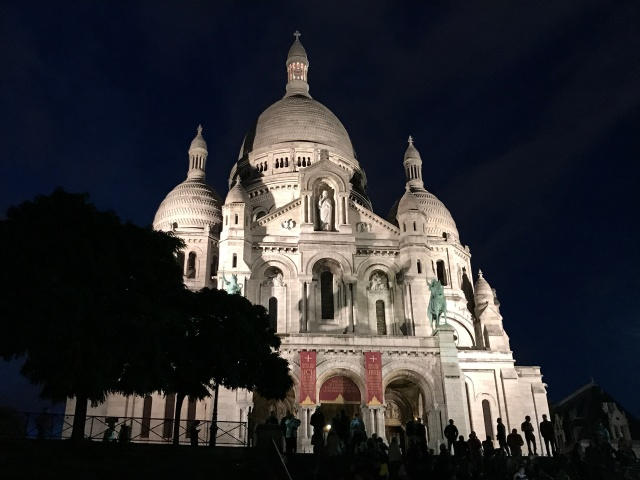 Sacre Couer in Paris, France