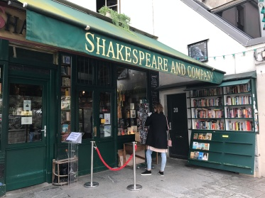 Shakespeare and Company Bookstore in Paris, France