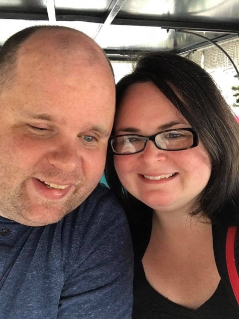 Us on a carriage ride in the French Quarter in New Orleans, LA