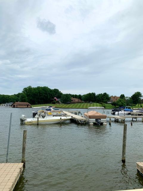 A view of Lake Anna, VA