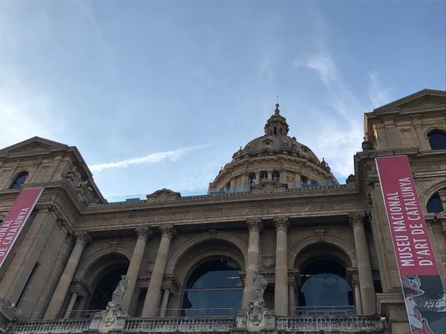 The MNAC in Barcelona, Spain