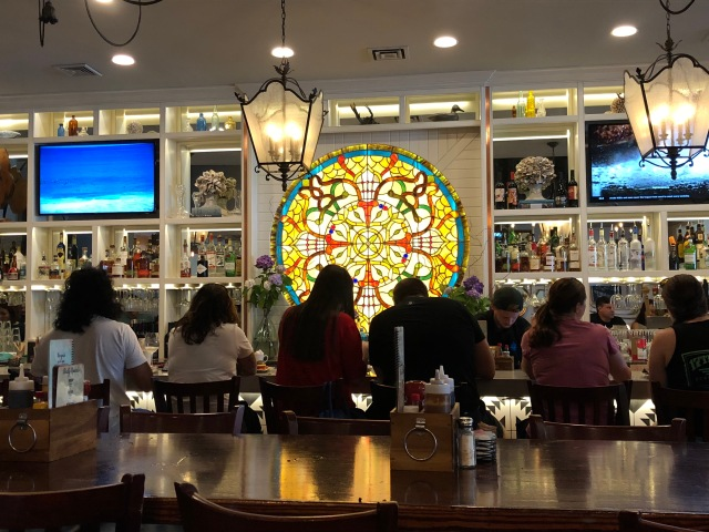 The bar at Bay Local Eatery in Virginia Beach, VA