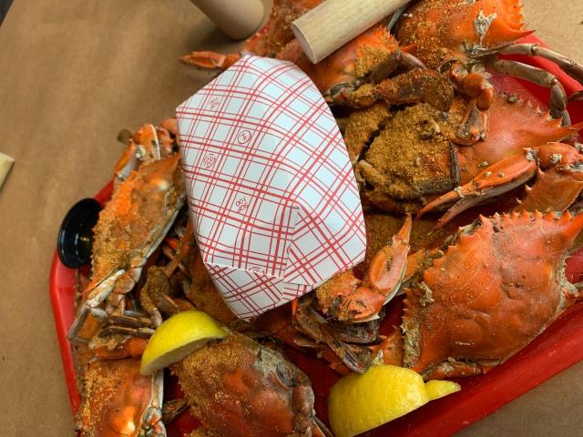Crabs at Tim's Lake Anna
