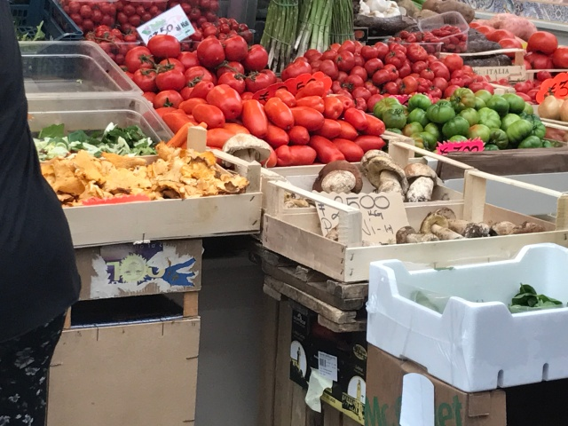 Inside the Testaccio Market in Rome, Italy