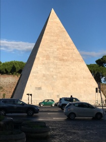 The pyramid in Testaccio in Rome, Italy