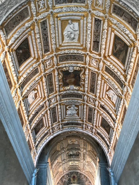 Inside the Doges' Palace in Venice, Italy