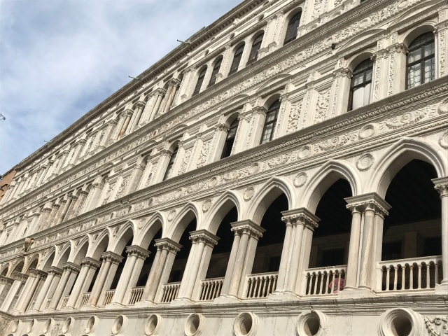The Doges' Palace in Venice, Italy