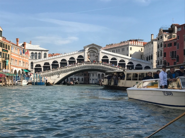 The Rialto Bridge in Venice