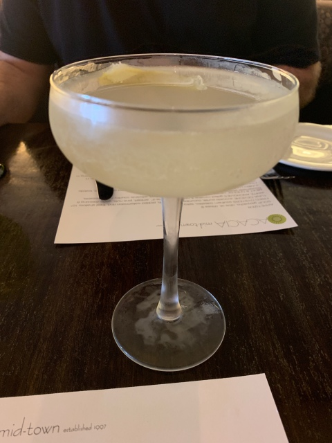 A cocktail at Acacia Midtown in Richmond, Virginia