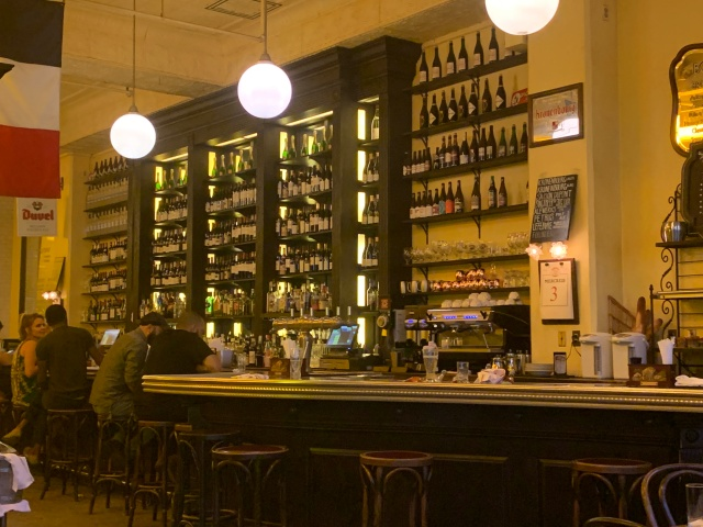 Inside of the Can Can Brasserie in Richmond, Virginia