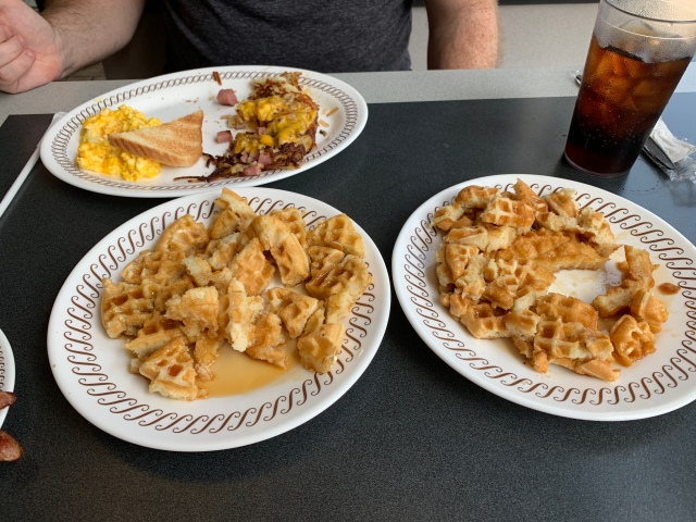 All Star Breakfast at a Waffle House in Richmond, Virginia