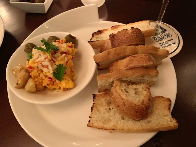 A picture of pimento cheese in Richmond, VA