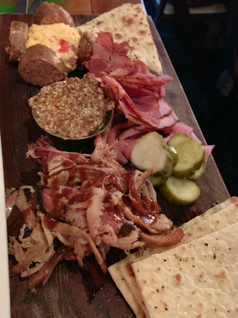 The charcuterie board at Lunch.Supper! in Richmond, Virginia