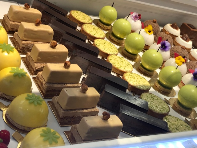 A selection of desserts from Pain de Sucre in Paris, France