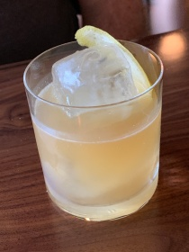 The Quoit Punch cocktail at the Jasper in Richmond, Virginia
