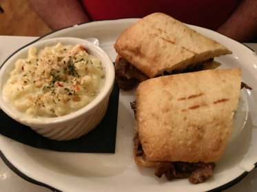 The cheesesteak sandwich at Cheesetique in Alexandria, Virginia