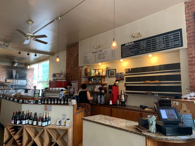 The inside of Sub Rosa Bakery in Richmond, Virginia