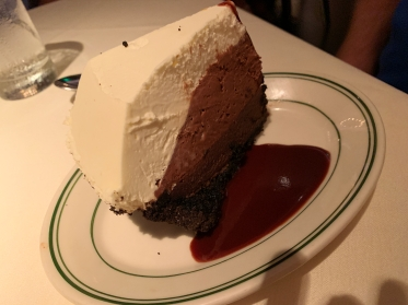 The chocolate fudge pie at Joe's Seafood, Prime Steak & Stone Crab in Washington, D.C.
