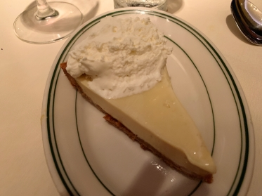 The key lime pie at Joe's Seafood, Prime Steak & Stone Crab in Washington, D.C.