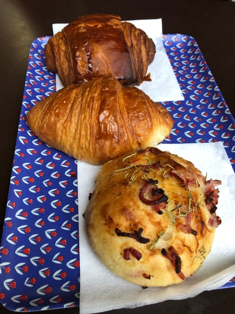 A selection of pastries from Ble Sucre in Paris, France