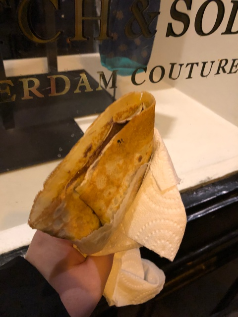 A crepe in Paris, France