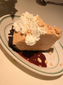 The peanut butter pie at Joe's Seafood, Prime Steak & Stone Crab in Washington, D.C.