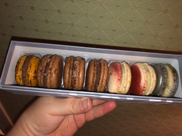 Macaron from Pierre Herme in Paris, France
