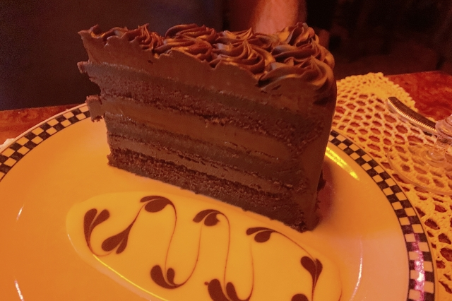 The Chocolate Truffle cake at Filomena Ristorante in Washington, D.C.