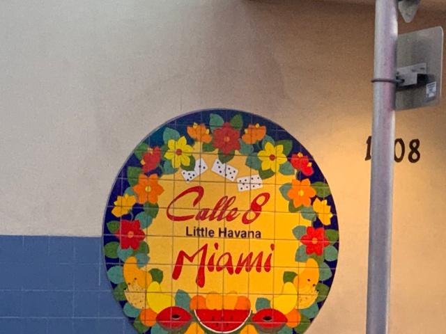 Calle Ocho in Miami, Florida