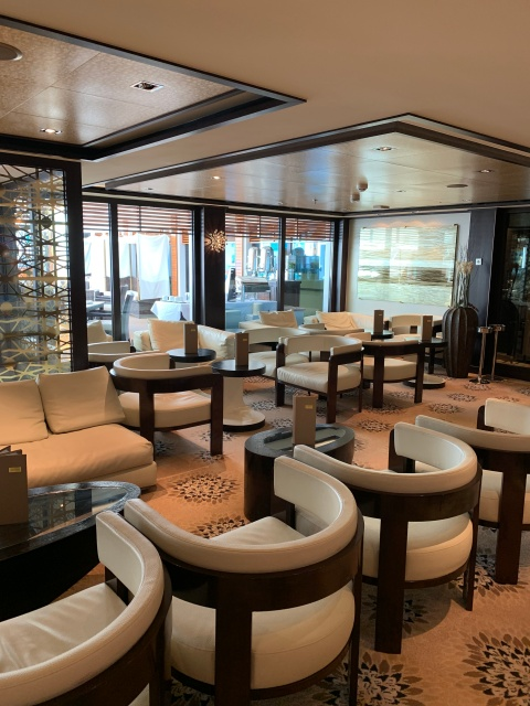 The Haven Bar and Lounge on the Norwegian Getaway Cruise Ship