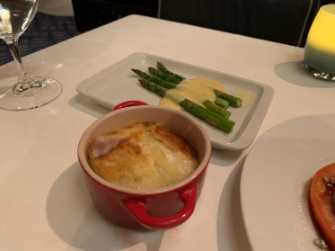The potato gratin at Ocean Blue on the Norwegian Getaway Cruise Ship.